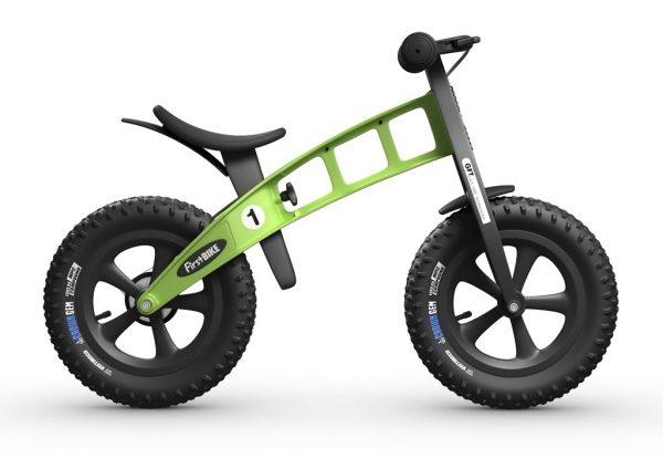 first bike green side