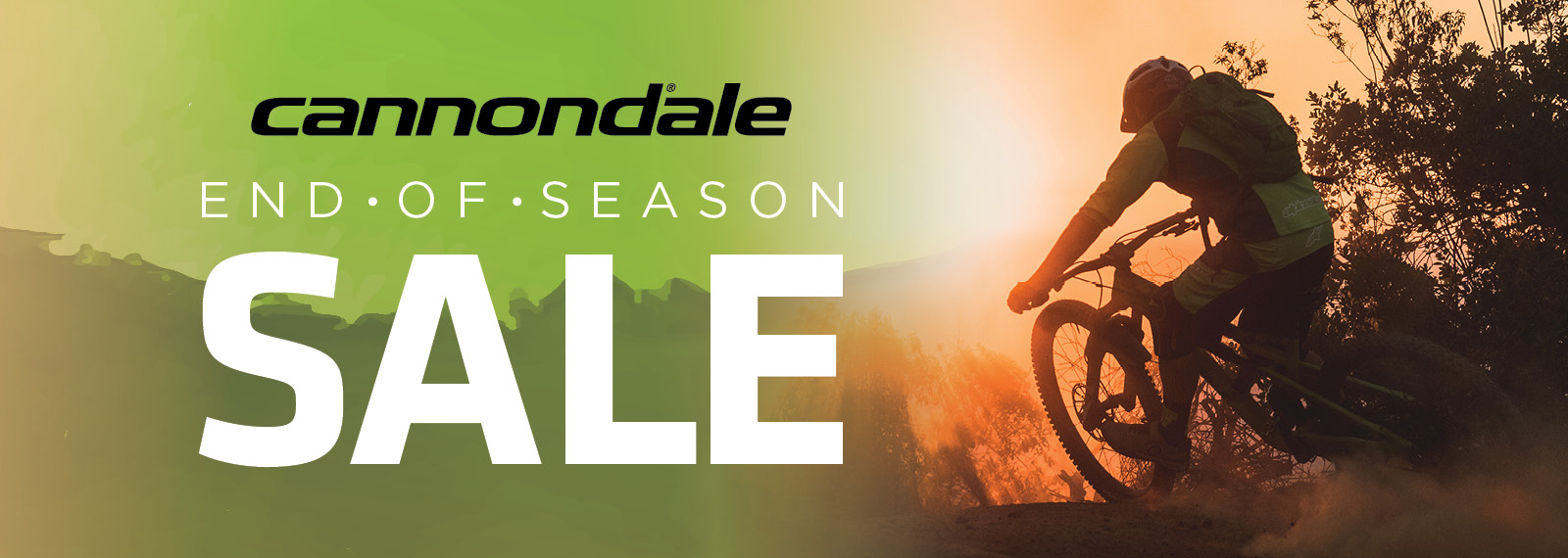 3db1cc5575e Click the image to go to the Cannondale End of Season Sale site. Browse the  bikes on sale and when you have picked out a bike, you will be asked to  nominate ...